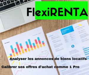 flexirenta logiciel simulateur rendement locatif